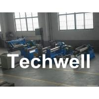 Carbon steel, GI, Color Steel Simple Slitting Machine Line With Scrap Rewind Device Manufactures