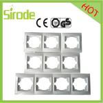 Europe 1 Gang,2 Gang,3 Gang,4 Gang Wall Switch Socket Electrical Faceplate Manufactures