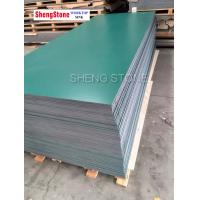 Green corrosion resistant physical and chemical board,phenolic board,School laboratory worktop use phenolic board Manufactures