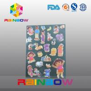 China Colorful Vivid Irregular Economic Recyclable Custom Paper Labels Bottle / Plastic Bag on sale