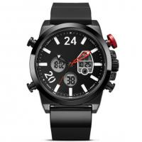 Digital Analog Sports Watches Chronograph Lcd Analog Watch Fashion Casual Dual Movement Military Waterproof Men Watch Manufactures