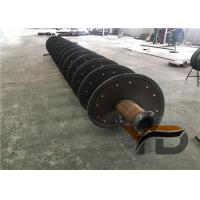 AC Motor Sand Screw Washer High Capacity With Heavy Duty Conveying Paddles Manufactures