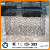 pvc coated gabion box for sale Manufactures