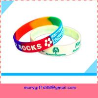 cheapest custom silicone bracelet with saying Manufactures