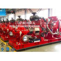 Firefighting Use Fire Pump Set With Split Case Fire Pump And Diese Engine Manufactures