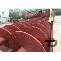 Powerful Treatment Capacity Sand Washing Equipment Long Spiral Body ISO Certification Manufactures