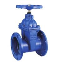 Cast Soft Seated Gate Valve Floating Design Pneumatic Actuators Flat Bottom Manufactures