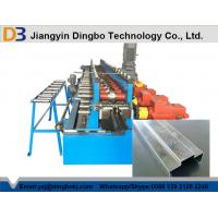Buy cheap High Efficiency Steel Door Frame Machinery With Chain Or Gear Box Driven System from wholesalers