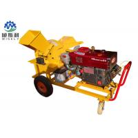 13hp Diesel Engine Home Wood Chipper Machine 1250 X 1300 X 950 mm Dimension Manufactures