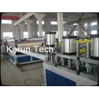 WPC Floor Base Material / PVC Sheet Extrusion Line For Sandwich Layer Manufactures