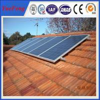 Solar slant roof mounted solar heater flat solar panel in china Manufactures