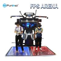 China Shooting Games Virtual Reality Simulator Customized Color For Adults / Teenagers on sale
