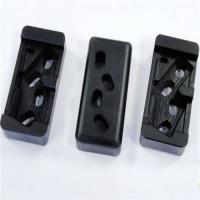 Black Nylon Machined Parts , Plastic Injection Moulding Machine Parts Manufactures