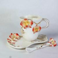 China Famille Rose Coffee Cup(CCG002)