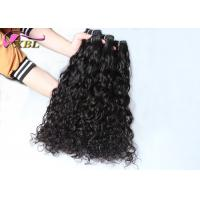 100 Indian Virgin Hair Machine Weft Italian Curl Style No Chemical Processed Smell Manufactures