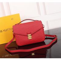 High Quality Louis Vutton, Replica LV Red Monogram Empreinte Leather ladies Bag Manufactures