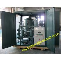 Buy cheap Vacuum Tranformer Oil Treatment System for reconditioning insulating oils, transformer maintenance oil purification from wholesalers