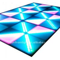 China AC100 - 240V high strength tempered glass sustainable, dustproof LED disco Dance Floors on sale