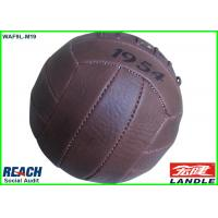 Quality Professional Brown Football Soccer Ball Size 6 Official Rugby Ball for sale