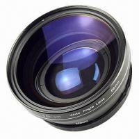 Buy cheap 58mm 0.5x Wide Angle Lens with Macro Lens, Comes in Black  from wholesalers