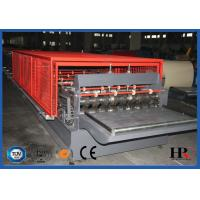 Hydraulic decoiler Metal Deck Roll Forming Machine High Speed 10-12m/min Manufactures
