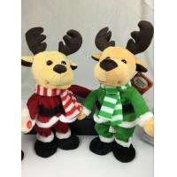 Lovely Dancing and Singing Music Talking Plush Toys Electronic Christmas Plush Toy Manufactures