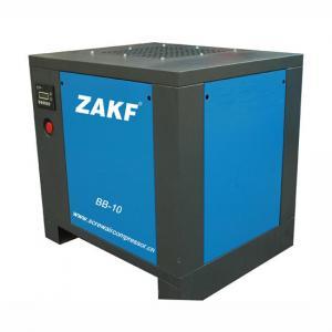 ZAKF Diesel Engine 10HP 7.5 KW Belt Air Cooling Screw Air Compressor Manufactures