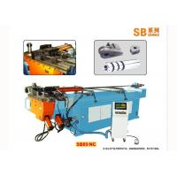 Electric Servo Motor Hydraulic Tube Bending Machinery , Exhaust Pipe Bender Manufactures