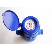 Wet-Dial Cold Water Meter Multi-jet ABS Liquid Sealed LXS-15EP Manufactures