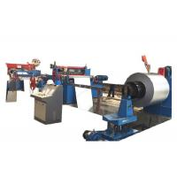 Stainless Steel Cut To Length Line Machine / Strap Coil Steel Coil Slitting Line