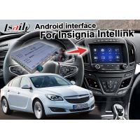 Android 7.1 Car Navigation Box For Opel Vauxhall Insignia Buick Regal video interface Manufactures