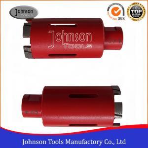 45mm 1 3/4 Diamond Core Drill Bits For Sandstone / Limestone Manufactures