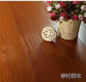 exotic Brazilian Cherry solid hardwood flooring, selected grade Manufactures