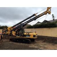 KR125C Hydraulic Piling Rig for Small Bored Pile / Borehole Drilling Machine