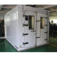 High Quality Programmable Led Test Laboratory Equipment Walk_in Climatic Temperature Humidity Chamber Manufactures