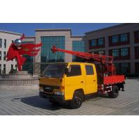 Truck Mounted Drilling Rig , Mobile Drilling Rigs For Bridge , Dam Manufactures