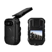 Remoter Controlled Police Video Camera , Police Wearable Camera With Black Color Manufactures