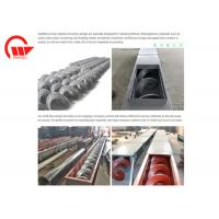 Large Angle Screw Conveyor Machine Long Distance For Powder Double Pitches Manufactures