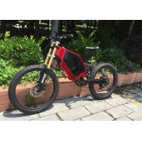 High Strength Electric Assist Mountain Bike Motorized Full Suspension Mountain Bike Manufactures
