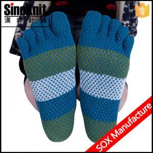 China Custom Athletic Non Slip Warmer Indoor Slipper Non Slip Yoga Socks on sale
