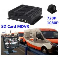China 720P SD Card MDVR 4Ch 3G vehicle camera dvr system Support Smartphone on sale