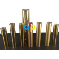 Quality Paper / Paperboard Holographic Film Roll , Metalized Silver / Gold Hot Foil for sale