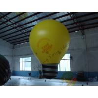 Fire - Retartant Inflatable Product Replicas For Business , Huge Blow Up Light Bulb Manufactures