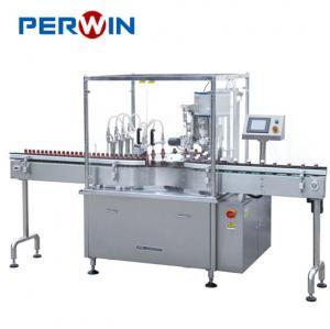 Oral Suspension Liquid Filling Sealing Machine ISO9001 Certification