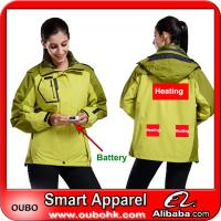 Ladies' Jacket With Automatic Battery Heating System Electric Heating Clothing Warm OUBOHK Manufactures