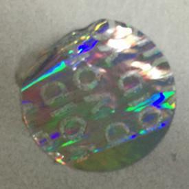 China Tamper Evident Void Hologram Sticker / Hot Stamp Stickers Glossy Varnish on sale