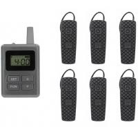 Buy cheap Portable Tour Guide Translation Equipment Environmental Friendly from wholesalers
