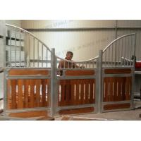 Luxury European Cheap indoor sliding Horse Barn Box Stall Fronts canada Manufactures
