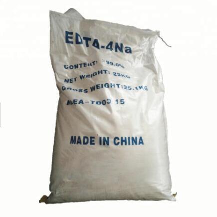 Quality Sodium EDTA -4Na Supplement , Ethylene Diamine Tetraacetic Acid Tetrasodium Salt for sale