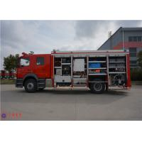 Manual Gearbox Emergency Rescue Vehicle 214KW Power With 2kg Fire Extinguisher Manufactures
